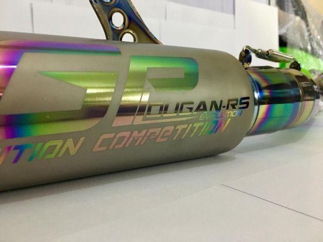 Escapamento Esportivo Gp Titânio Lougan RS Zx10 RR 16-20 - Foto 18
