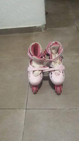 Patins Infantil usado - Foto 3
