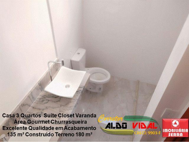 ARV 11. Casa 3 Quartos, Varanda, Suíte, Churrasqueira, Quintal Grande - Foto 6