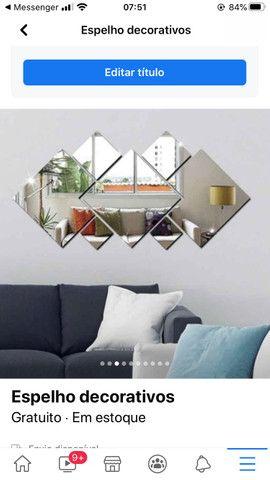 Espelhos p/ decoração - Foto 4