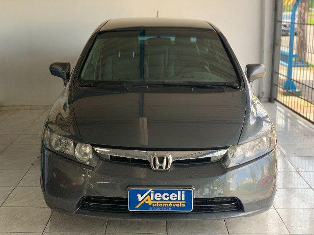 Honda Civic LXS 1.8 automático 2007, Único dono