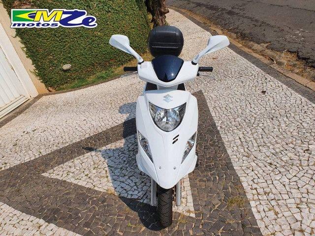 Suzuki Burgman I 125 2019 Branca com 800 km - Foto 7