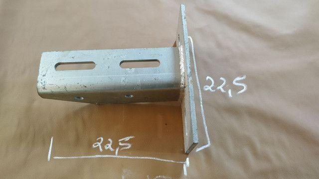 Mão francesa reforçada. Mezanino loft ferro cobertura - Foto 2