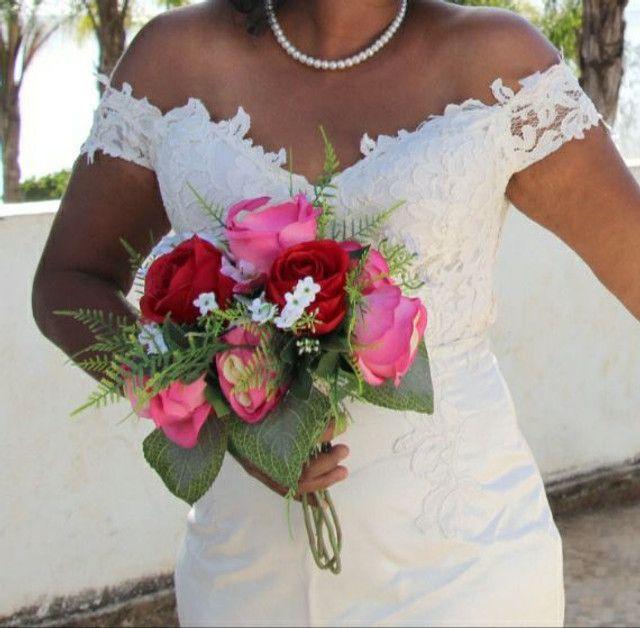 Vestido de noiva sereia - Foto 2