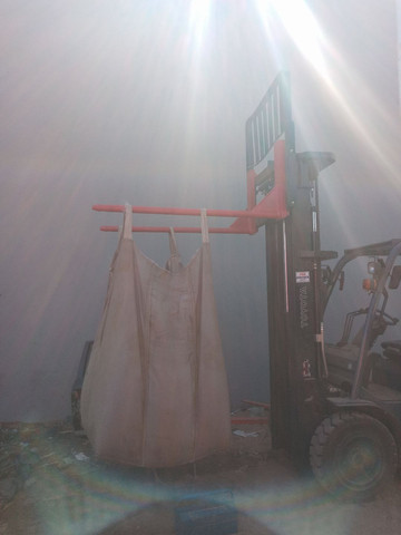 Alongador de lanças para empilhadeiras e lanças cilindricas. - Foto 4
