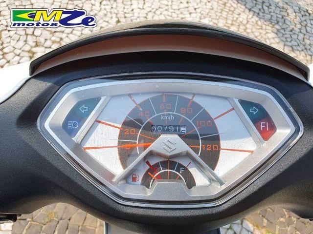 Suzuki Burgman I 125 2019 Branca com 800 km - Foto 12