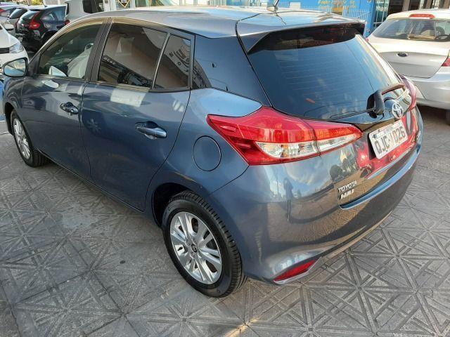 50% entrada + 48x 1.113,00 - Toyota Yaris XL Automático 2019 - Só 48.300km - Foto 2