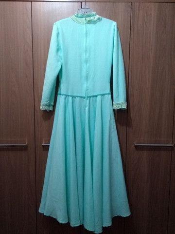 Pilcha artística feminina (vestido de prenda) - Foto 2