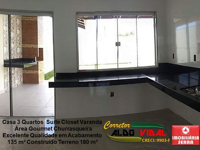 ARV 11. Casa 3 Quartos, Varanda, Suíte, Churrasqueira, Quintal Grande - Foto 8