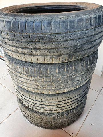 4 pneus 195 60 R16 Continental 89T - Foto 2