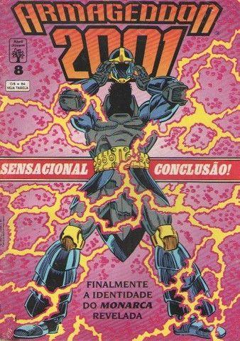 Kit 4 revistas DC (Monstro do Pântano e Armagedon 2001) - Foto 3