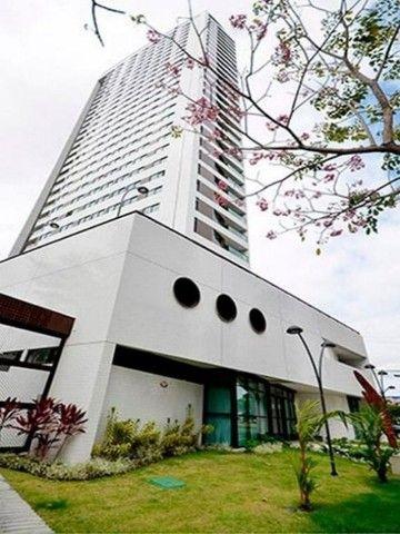 Apartamento com 1 quarto para alugar, 27 m² por R$ 2.995/mês - Boa Viagem - Recife