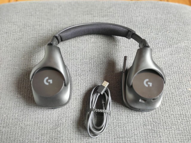 Hedset Logitech G533 Wireless Sem Fio - Foto 4