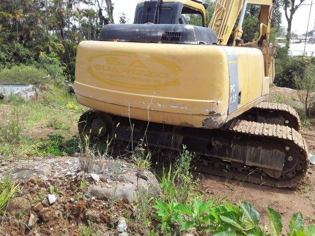 Escavadeira YUCHAI 135 motor cummis  - Foto 6