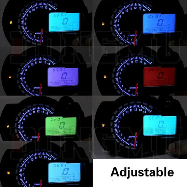 Painéis de moto universal eletrônico. - Foto 2