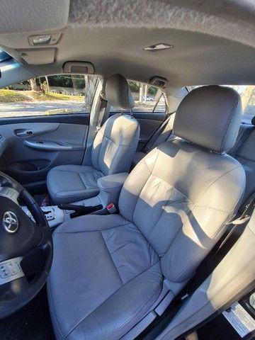 Corolla 2013 Automatico + Couro + GNV 5Ger Impecável Estado de Conservação - Foto 9