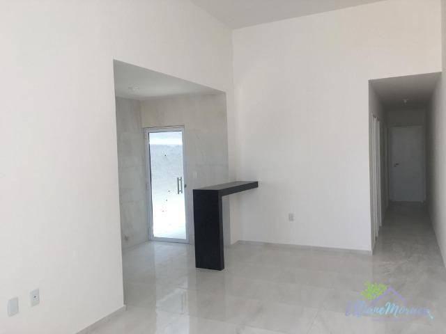 Casa à venda, 89 m² por R$ 238.000,00 - Precabura - Eusébio/CE - Foto 3