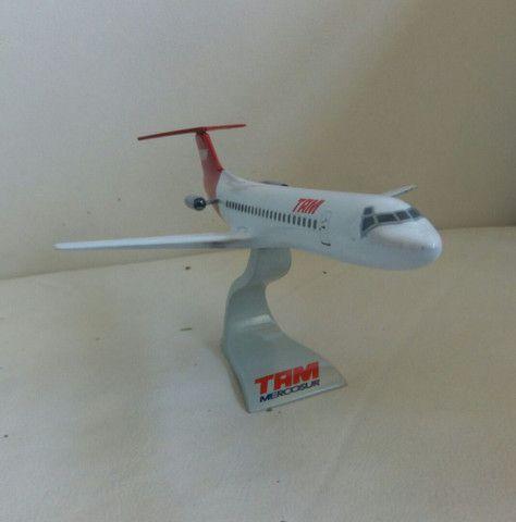Maquete do Fokker 100 TAM - Foto 2