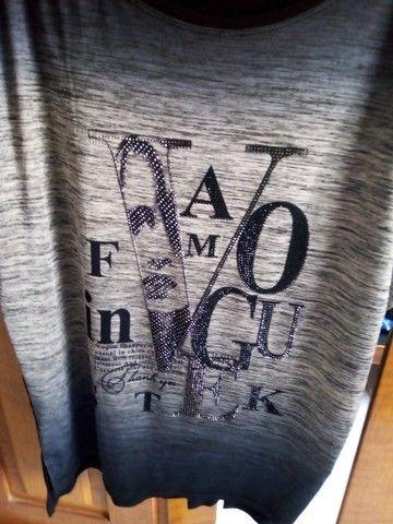 Blusa Preta Tamanho GG