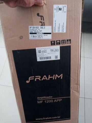 Caixa de som amplificada multiuso frahm _ MF 1200 App - Foto 5