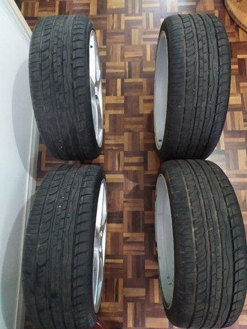 Rodas aro 20 com pneus novos!!! - Foto 10
