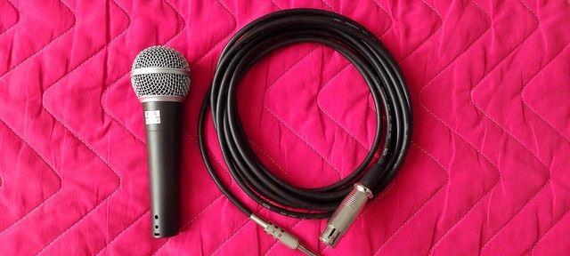 Microfone c/ cabo
