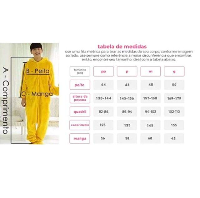 Acabando: Kit Pijama Unicórnio Rosa com Pantufa Pata - Foto 6