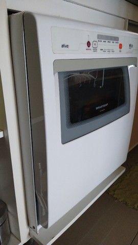 Lava, enxágua e seca louças -Brastemp, usada 1 vez, por R$ 750,00.  - Foto 2