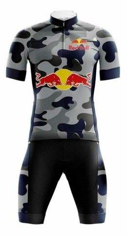 Conjunto Red Bull - Tamanho 3G