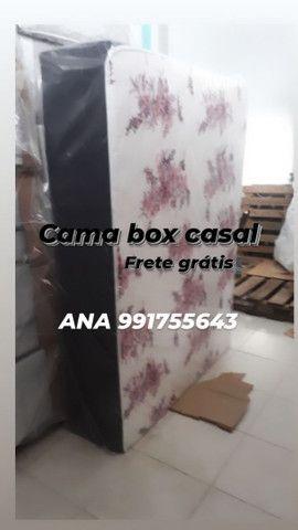 Cama box cama box cama box cama box cama romana frete grátis x - Foto 2