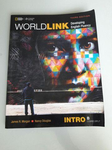 Livro de inglês WorldLink - Colégio Motivo