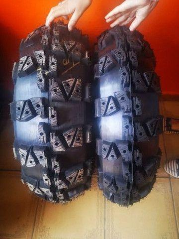 Jogo de pneus para Quadriciclo HONDA FOURTRAX - Foto 3