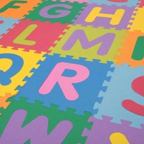 Tapete Infantil Eva Alfabeto Completo 26 Peças 30x30x0,8 (LxPxA)  - Foto 2