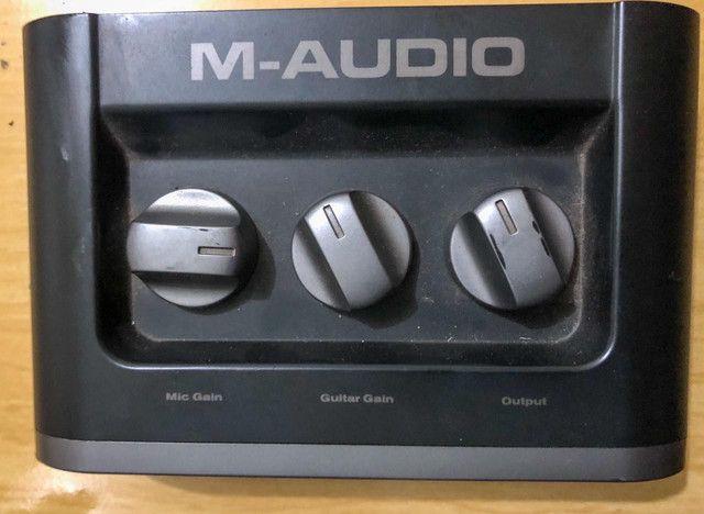 Placa M-áudio 500 reias no pix,não faço menos já está super baixo o valor  - Foto 3