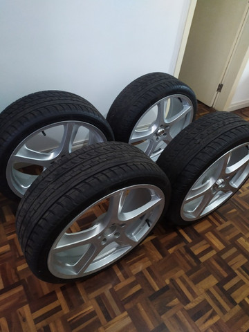 Rodas aro 20 com pneus novos!!! - Foto 2