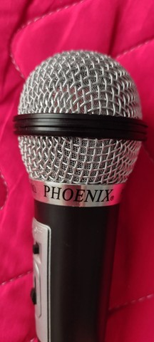 Microfone / mais cabo  - Foto 2