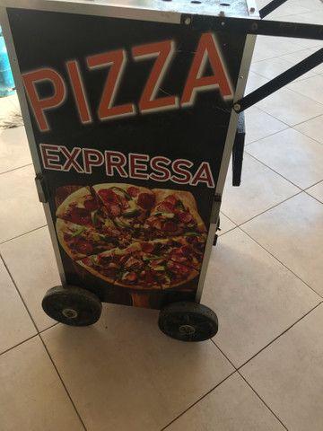 Carrinho de pizza  - Foto 6