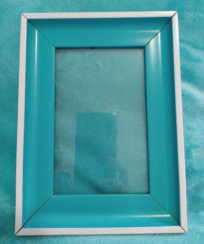 Porta Retrato Lindo Azul Turquesa - Foto 2