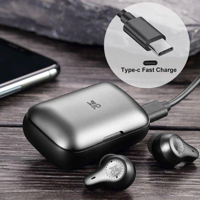 Fone Mifo o7 Bluetooth 5.0 Nanotube dinâmico. - Foto 5