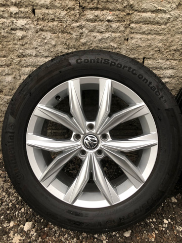Jogo de rodas Tiguan VW 5 furos aro 18 - Foto 2