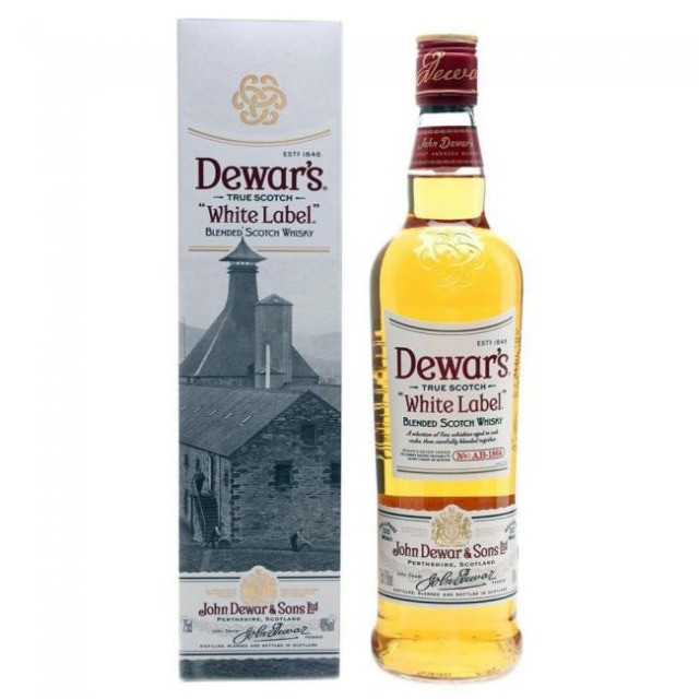 Whisky Dewar´s White Label 750 ml