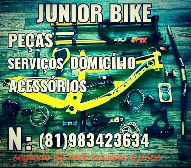 Júnior bike peças e serviços acessórios - Foto 3