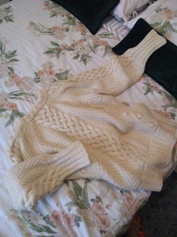 Blusão tricô à mão - Foto 3
