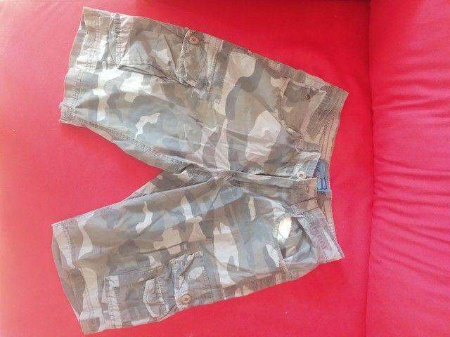 Bermudas Jeans Masculina tamanho 40 - Foto 5