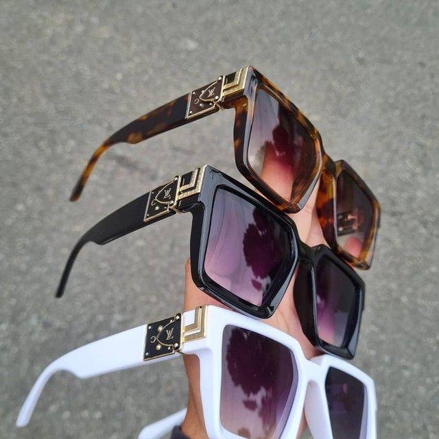 Óculos de Sol Louis Vuitton Millionaire + Case completa- Proteção uv  - Foto 3