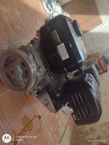 Vendo motor 6hp novo nunca usado  - Foto 6