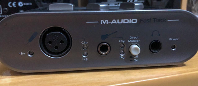 Placa M-áudio 500 reias no pix,não faço menos já está super baixo o valor
