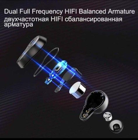 Fone Mifo o7 Bluetooth 5.0 Nanotube dinâmico. - Foto 2