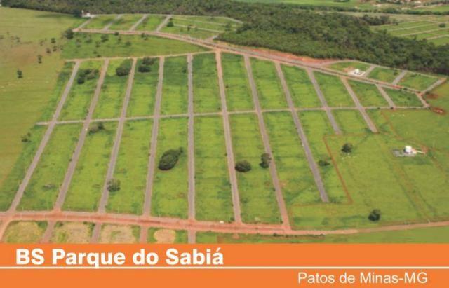 Oportunidade Única:Ágio Lote 264.5 m2 Parque Do Sabiá -Patos de Minas