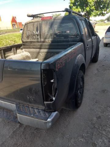 Nissan frontier attack 2014 sucata somente peças